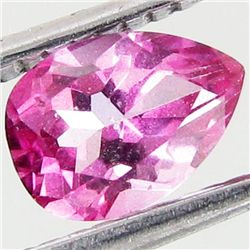 1ct Mystic Pink Pear Topaz (GEM-42024)