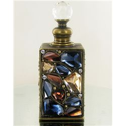 Enameled Handcrafted Perfume Bottle (CLB-1132)