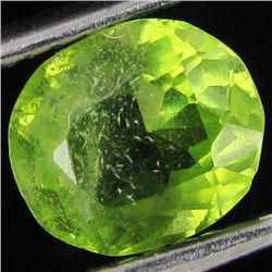 1.35ct Clean Green Peridot Oval (GEM-43624)