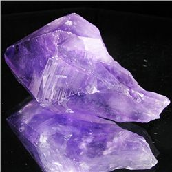 230ct Large Purple Amethyst Single Crystal (MIN-001358)