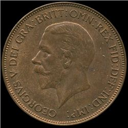 1936 British Geo V 1p Uncirculated MS64 (COI-8942)