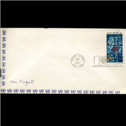 1967 UN First Day Postal Cover (STM-2621)