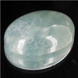 85.75ct Sky Blue Aquamarine Cabochon (GEM-45595)