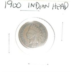 1900 INDIAN HEAD PENNY *ICE COIN - PLEASE LOOK AT PICTURE TO DETERMINE GRADE*!!