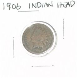 1906 INDIAN HEAD PENNY *NICE COIN - PLEASE LOOK AT PICTURE TO DETERMINE GRADE*!!