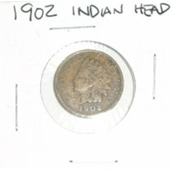 1902 INDIAN HEAD PENNY *NICE COIN - PLEASE LOOK AT PICTURE TO DETERMINE GRADE*!!