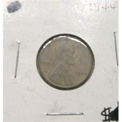 1944 LINCOLN PENNY *PLEASE LOOK AT PICTURE TO DETERMINE GRADE*!!