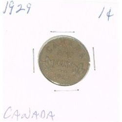 1929 CANADA 1 CENT PENNY *RARE NICE CANADIAN PENNY*!!