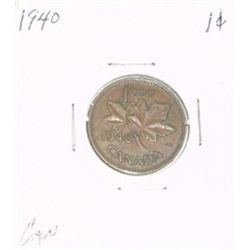 1940 CANADA 1 CENT PENNY *RARE NICE CANADIAN PENNY*!!