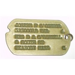 VINTAGE DOG TAG *DOG TAG IN GREAT CONDITION* NOT SURE FROM WHERE!!!
