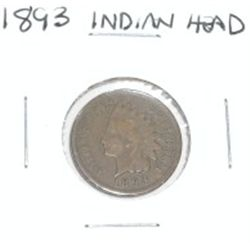 1893 INDIAN HEAD PENNY *PLEASE LOOK AT PICTURE TO DETERMINE GRADE*!!