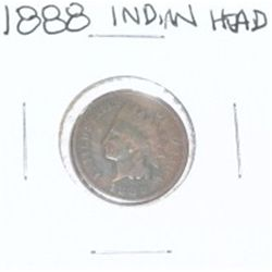 1888 INDIAN HEAD PENNY *PLEASE LOOK AT PICTURE TO DETERMINE GRADE*!!