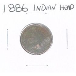 1886 INDIAN HEAD PENNY *PLEASE LOOK AT PICTURE TO DETERMINE GRADE*!!