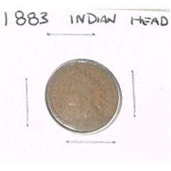 1883 INDIAN HEAD PENNY *LOOK AT PICTURE TO DETERMINE GRADE*!!
