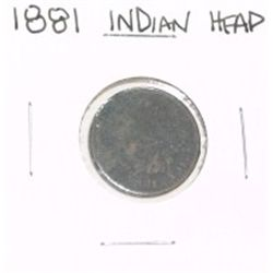1881 INDIAN HEAD PENNY *LOOK AT PICTURE TO DETERMINE GRADE*!!