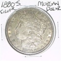 1880-S MORGAN SILVER DOLLAR *NICE SILVER COIN - PLEASE LOOK AT PICTURE TO DETERMINE GRADE!!