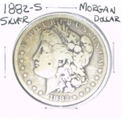 1882-S MORGAN SILVER DOLLAR *NICE SILVER COIN - PLEASE LOOK AT PICTURE TO DETERMINE GRADE!!