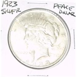 1923 PEACE SILVER DOLLAR *NICE SILVER COIN - PLEASE LOOK AT PICTURE TO DETERMINE GRADE!!