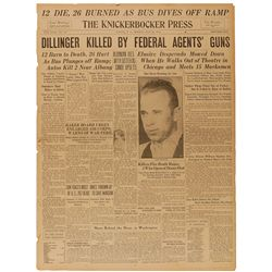 john dillinger research paper Conducting research in fbi records  seminar paper may find out too late that crucial information is  sacco and vanzetti, nazi saboteurs, or john dillinger.