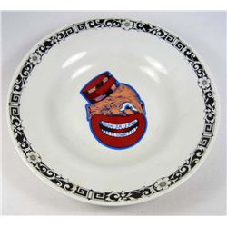 1446 - BLACK AMERICANA COON CHICKEN INN BOWL