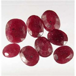 649 - LOT OF 105.1 NATURAL RUBY GEMSTONES