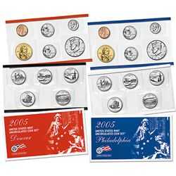 Uncirculated Mint Set 2005