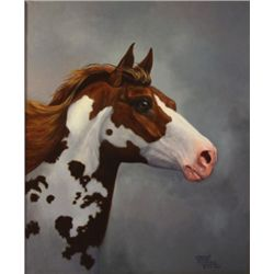 "Chuck DeHaan - "" Prince "", Oil On Canvas, 30"" X 20"""