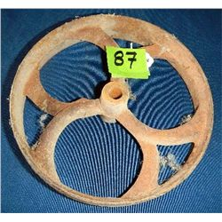 Antique belt pulley