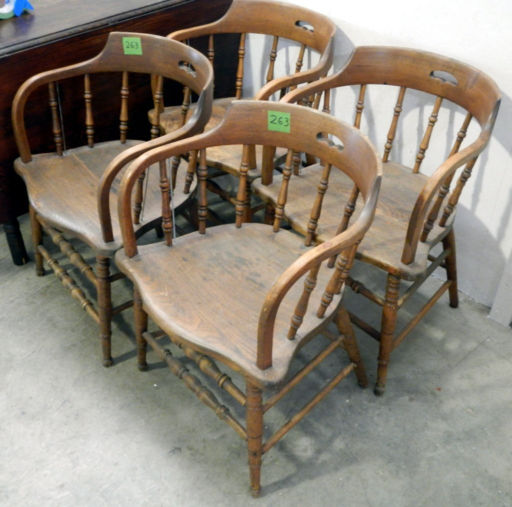 - Antique Captains Chairs