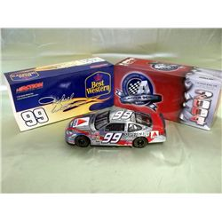 NASCAR 1:24 Scale Jeff Burton Citgo Car Wrong Box