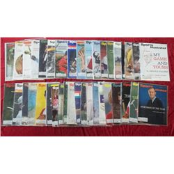 38 1963 Sports Illustrated Magazine Issues