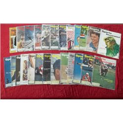 25 1961 Sports Illustrated Magazine Issues