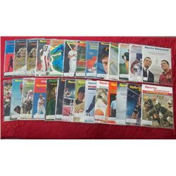 27 1966 Sports Illustrated Magazine Issues