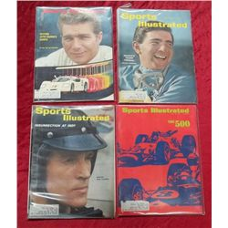 4 1960's Sports Illustrated Motorsports Issues