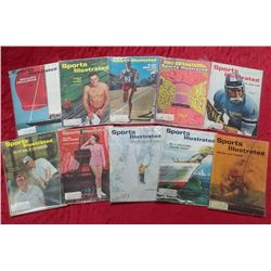 10 Assorted 1960's Sports Illustrated Issues
