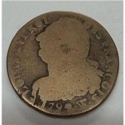 1792 France Louis XVI 2 Sol French Revolution Coin