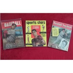 3 Early 1950's Sports Magazines
