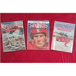 3 1954 Sports Illustrated Magazines - 1st Year