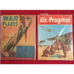 2 Mid-Century Aviation Magazines