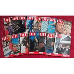15 1960 Life Magazine Issues