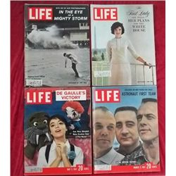 4 1961 Life Magazine Issues