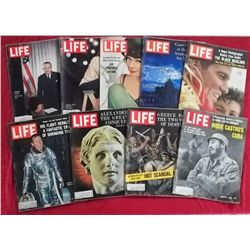 9 1963 Life Magazine Issues
