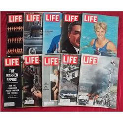 10 1964 Life Magazine Issues