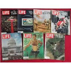 7 1965 Life Magazine Issues