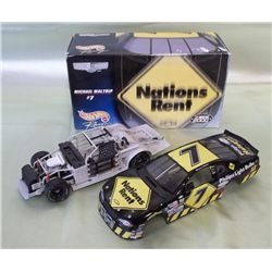1999 1:24 Scale Michael Waltrip Nations Rent Car