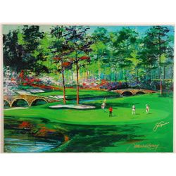 Giclee on Canvas Hand Signed by Jack Nicklaus and Malcum Farley