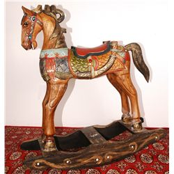 "Carousel Rocking Horse 43""Tall"