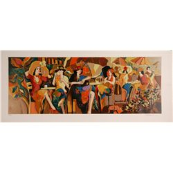 Isaac Maimon signed serigraph