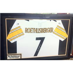 Roethlisberger Autographed Jersey