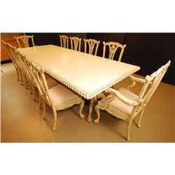 Chippendale 10 Seat Dining room set